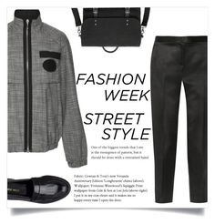 """""""NYFW: Street Style"""" by xniko ❤ liked on Polyvore featuring Alexander Wang, The Row and Nine West"""