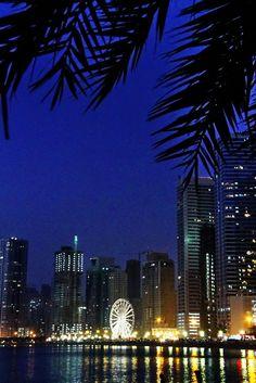 Sundown on Sharjah, Sharjah, United Arab Emirates