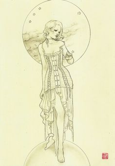 Illustrations by Jasmin Darnell Beautiful Drawings, Cool Drawings, Drawing Sketches, Colouring Pages, Adult Coloring Pages, Coloring Books, Sketch Painting, Watercolor Sketch, Character Drawing