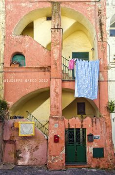 Procida,Traditional architecture - Copyright 2012 Giuseppe Greco All rights reserved