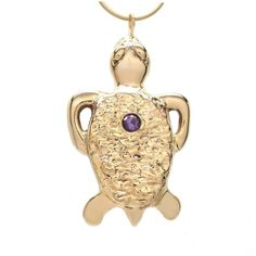 18k gold plated amethyst tortoise necklace 18 inch l ($229) ❤ liked on Polyvore featuring jewelry, necklaces, amethyst jewelry, round necklace, tortoise necklaces, chain jewelry and 18 karat gold necklace