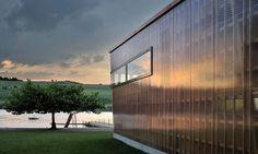 expose a little structure: Bathing Beach Küssnacht (Küssnacht, Switzerland) by GKS Architekten und Partner AG.