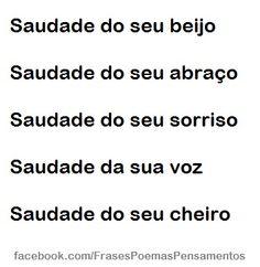 Saudade do seu beijo  #frases #poemas #pensamentos @folhasolta  http://www.folhasolta.com/frases-e-pensamentos/saudade-do-seu-beijo/