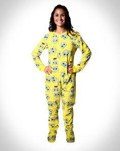 pajamas Adult spongebob