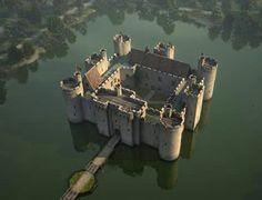 Bodium Castle, England