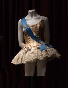 Barbara Karinska costume for Ballet Imperial, 1964. Via New York City Ballet #dancefashion