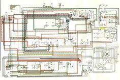 73 914 PORSCHE | Porsche 914 Electrical Diagrams
