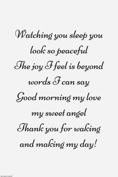 Looking for romantic good morning poems for him to compliments him by a beautiful poem and surprise your boyfriend or husband with this cute love lines. Cute Love Poems, Love Poems For Him, Cute Love Lines, Beautiful Love Quotes, Best Love Quotes, Beautiful Roses, Favorite Quotes, Good Morning Poems, Morning Love Quotes