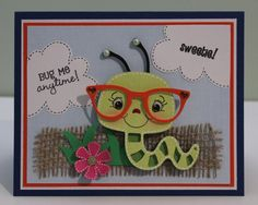 Projects using Create a Critter Cricut cartridge Funny Cards, Cute Cards, Kids Cards, Baby Cards, Scrapbooking Layouts, Scrapbook Cards, Create A Critter, Cricut Cards, Animal Cards