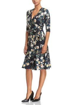 Signature Monet Wrap Dress by Sportscraft Classic Style, Style Me, Classic Fashion, Autumn Fashion 2018, Monet, Wrap Dress, How To Wear, Clothes, Collection