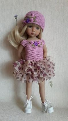 Outfit-for-doll-13-Dianna-Effner-Little-Darling. SOLD for $87.45 on 6/25/15.