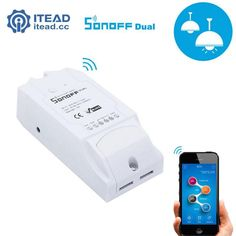 ITEAD Sonoff Dual - Wifi Smart Switch Smart Home Wireless Remote Control Intelligent DIY Switch Timer Switch For Home Automation