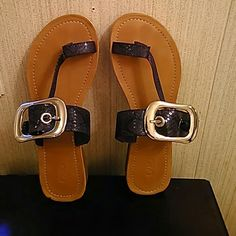 CATO/Sandal size 9, Purple Snakeskin Worn once.  Super Condition!! CATO Shoes Sandals