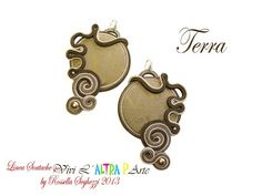 I Bijoux di Rossella: Terra Earrings