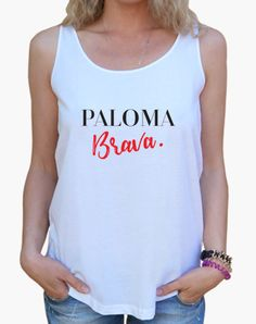 Camiseta chica Paloma Brava