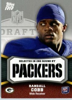 2011 Topps Rising Rookies Football Card # 129 Randall Cobb RC - Green Bay Packers (RC - Rookie Card) NFL Trading Card Protective Screwdown Display Case by Topps. $0.01. This is one of the 1000s of great 2011 football cards being offered here!. Great looking 2011 Topps Football Card !. Check back weekly, as we are always adding more inventory!!. NOTE: Stocl Image is used!. This is one of 200 different cards available from the regular issue set of 2011 Topps Rising Rooki...