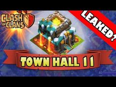 cool Clash of Clans  TOWN HALL 11 Leaked?  2015 Update Dis