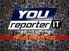 """Grazie a YouReporter.it - IL REPORTER SEI TU potrai seguire in tempo reale tutte le notizie più importanti del giorno sul tuo Smartphone, Tablet e Smart Tv! Centinaia di video """"user generated"""" caricati direttamente dagli utenti che raccontano cosa succede nel Mondo! Testimonianze di chi sta DENTRO la notizia! Segui Youreporter su PrimoItalia Tv, quando vuoi tu, dove vuoi tu!"""