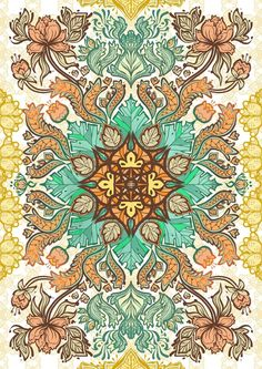 Indonesian Batik Patterns by Rahedie Yudha Pradito, via Behance