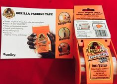 @GorillaGlue Looking forward to trying the #Just1Strip Packaging Tape Tx @Smiley360 #FreeSamp