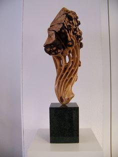 biomorpher Torso; Kunst / Art; Holzkunst / Wood Art; Bildhauerei / Woodworking; Woodcarving;  Sculptural Carving; , Art of Wood;  Wood Design; Handmade;   / Sculptures; Holzskulpturen / Wood Sculpture; dekorativ;  Holzfigur; I like Wood;  Beleuchtete Skulpturen / Sculpture with Light; Fineart in Wood; Phantasie in Holz  Phantasie in Wood; Holzkünstler / Woodcarver; Massivholz; Obstbaumhölzer;  Thiele Holzbildhauer; Thomas Thiele Künstler / Artist