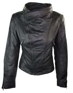 Ladies Women Real Leather Slim Fit Jacket Racing Biker Jacket sold by leatherworld2014. Shop more products from leatherworld2014 on Storenvy, the home of independent small businesses all over the world.