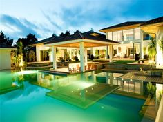Contemporary Home near Biarritz, France #Pool