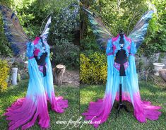 Tropic Fairy Progress by *Lillyxandra  omg I am just about to fall off my chair this is such lovely work!!!