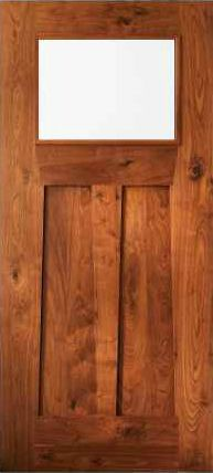 JELD-WEN 389 Custom Wood Glass Panel from waybuild