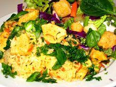 One Pot Cilantro Chicken & Rice - Osh Po Lo