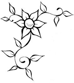 Space Drawings, Cute Easy Drawings, Art Drawings Sketches Simple, Pencil Drawings, Easy Flower Drawings, Vine Drawing, Lettering Tutorial, Disney Drawings, Doodle Art