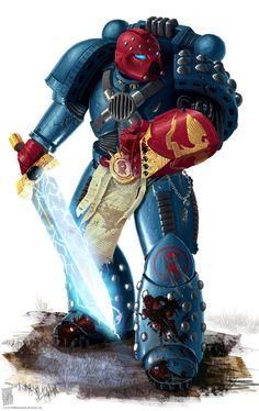 Crimson Fist, Warhammer 40k