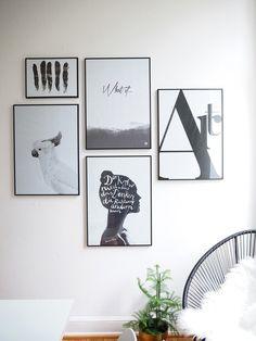 Verliebt in eine Bilderwand