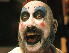 Some great art and tattoo's of the worlds favourite clown, Captain Spaulding (from Rob Zombie Films Fame) Pics c. Terrifying Movies, Scary Movies, Great Movies, Horror Movies, Horror Movie Quotes, Excellent Movies, Funny Horror, Horror Fiction, Cult Movies
