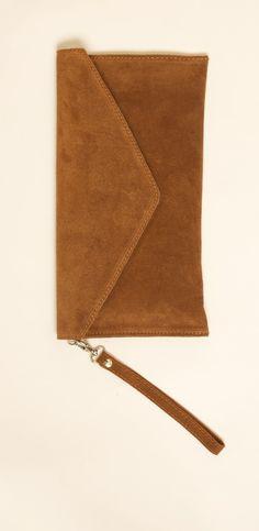 Fuschia pink suede clutch bag #handbag #danielli #dartmouth ...