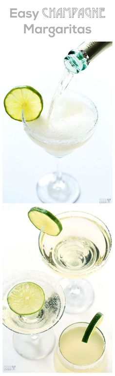 Champagne (Sparkling!) Margaritas