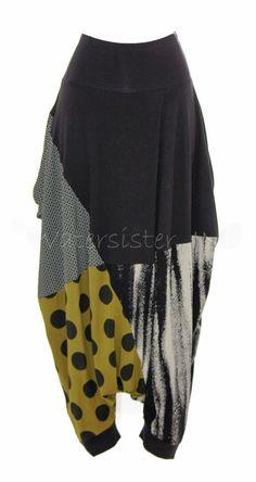 Alembika Lagenlook Dali Pant Artsy Drop Crotch Harem Pinned by Design Jewelry Cool Outfits, Casual Outfits, Diy Fashion, Womens Fashion, Layered Fashion, Drop Crotch, Clothes Crafts, Elegant Outfit, Boho Chic