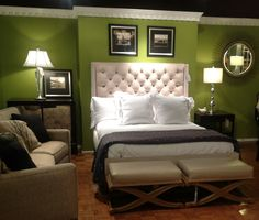 Green And Brown Bedroom Cute Green Wall Color Bedroom Combine With Splashes Of…