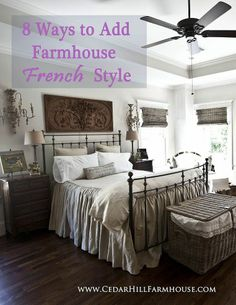 Adding french farmhouse accents...A free E book!