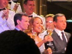 Jerry Seinfeld, Mariah Carey, Neil Patrick Harris and me on the Disney Fantasy