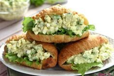 Avocado Egg Salad ~ avocado toast meets classic egg salad, lightened up with yogurt and studded with creamy chunks of Dash Diet Recipes, Lunch Recipes, Salad Recipes, Cooking Recipes, Healthy Recipes, Egg Recipes, Vegetarian Recipes, Avocado Egg Sandwiches, Avocado Egg Salad