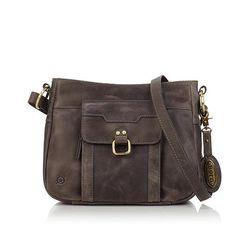Born® Eudora Leather Crossbody - 8061511 | HSN
