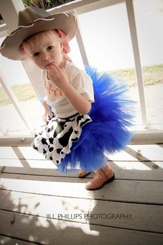 Jesse from Toy Story Tutu Halloween Costume by KirrasBoutique, $55.95