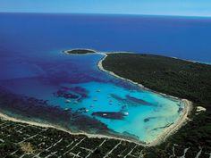 Plages dans la région de Zadar