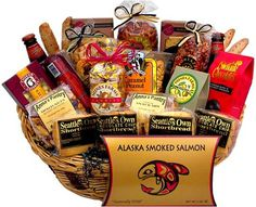 Non gmo free snacks healthy gift box premium care package gluten black friday 2014 deluxe snack gift basket from seattle gift basket company cyber monday negle Choice Image