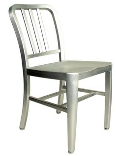 aluminum chairs - I would like to have four of these chairs with a vintage table for our kitchen
