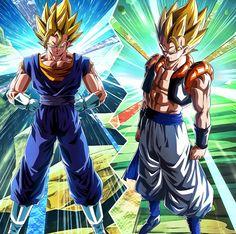 Bejitto & Goku SSaiyanjin