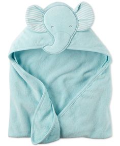Carter's Baby Boys' Hooded Elephant Towel - Baby Strollers & Gear - Kids & Baby - Macy's