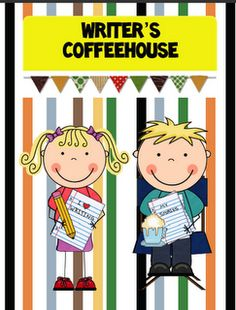 Writer's Coffeehouse - great idea for sharing student writing second semester