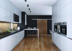 ¿Tu cocina es rectangular? Entonces una distribución de cocina en dos frentes es la tuya